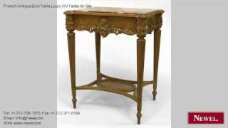 French Antique End Table Louis Xiv Tables For Sale