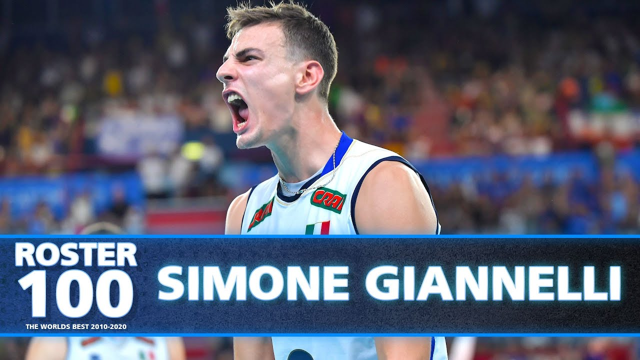 Volleyball Evolution of Simone Giannelli - Olympic Silver Medallist of 2016!🇮🇹  | Highlights | HD