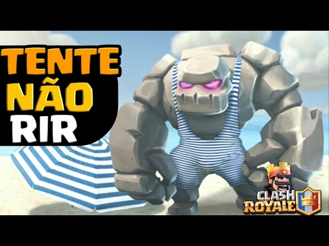 FUNNY MOMENTS & GLITCHES & FAILS | CLASH ROYALE MONTAGE #24
