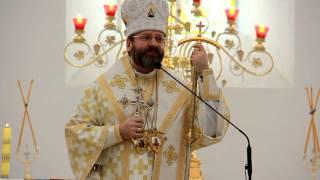 Слово Блаженнішого Святослава в Соборі Покрова Пресвятої Богородиці м. Самбора