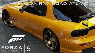 Xbox One | Forza Motorsport 5 | Mazda RX7 Gameplay 1080p