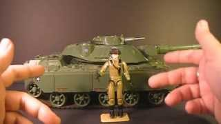 HCC788 - 1982/1983 MOBAT tank and STEELER - G. I. Joe toy review!