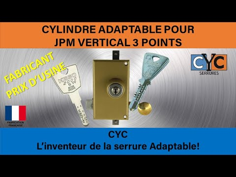 keso jpm serrure cle changer le cylindre en 10 minutes par cyc youtube. Black Bedroom Furniture Sets. Home Design Ideas
