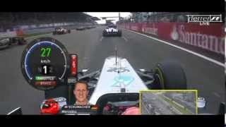 F1 2011 - R10 - Nurburgring Highlights onboard