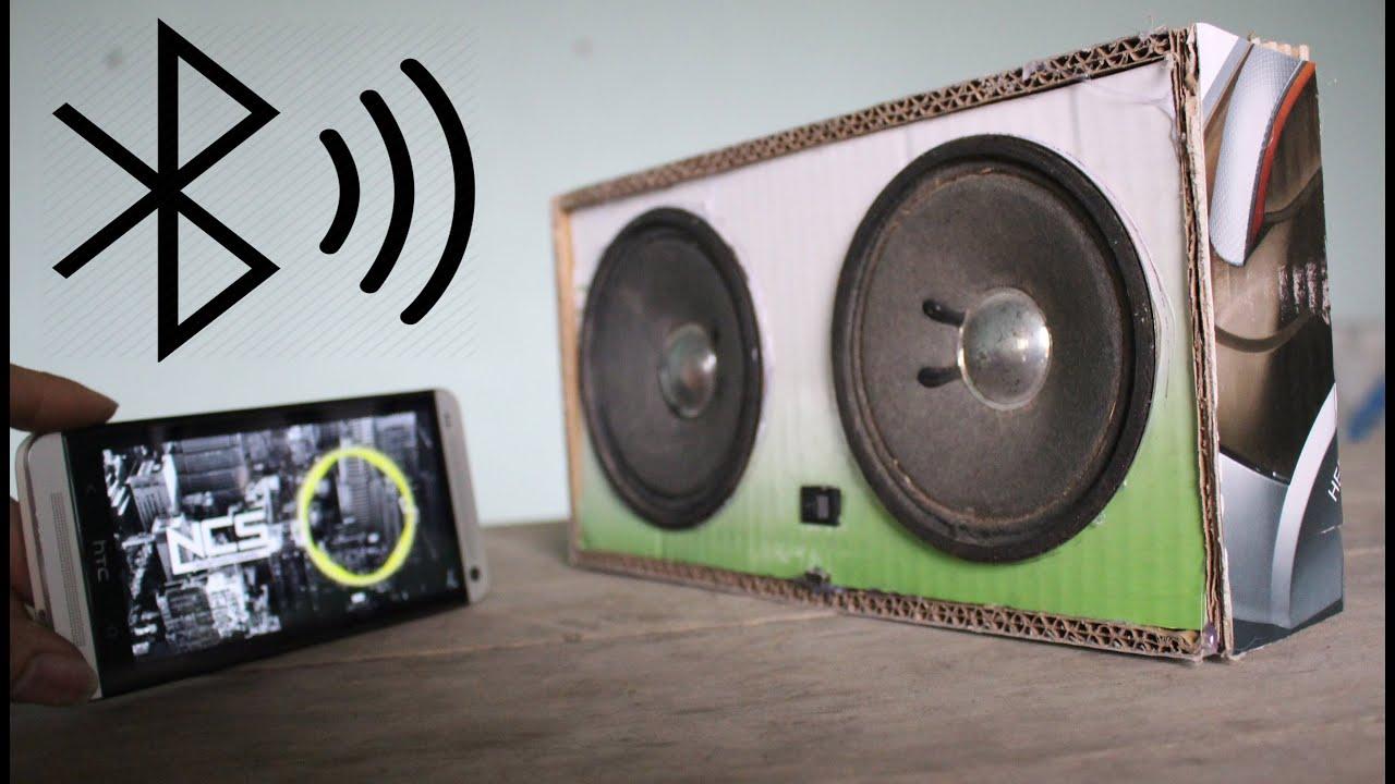Circuito Bluetooth Casero : Como hacer un altavoces bluetooth con cartón youtube