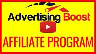 ADVERTISING BOOST AFFILIATE PROGRAM - EXCLUSIVE BONUSES FOR ADVERTISING BOOST AFFILIATES