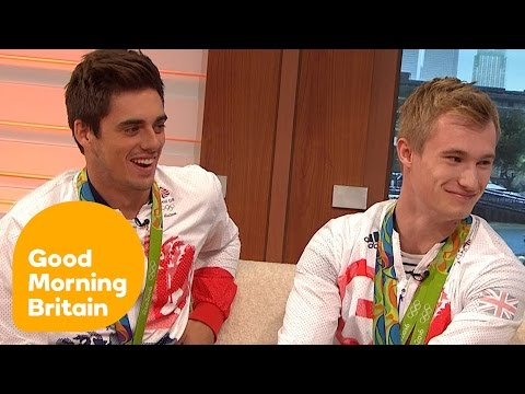 Divers Chris Mears And Jack Laugher On Winning Olympic Gold   Good Morning Britain