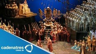 Instituto Politécnico Nacional difunde la opera Aida de Giuseppe Verdi
