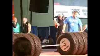 2014 ARNOLD CLASSIC  STRONG MAN WORLD RECORD 1155LB Zydrunas Savickas