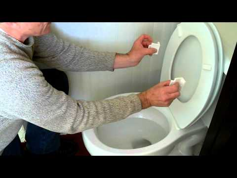Toilet Seat Stoppers Installation