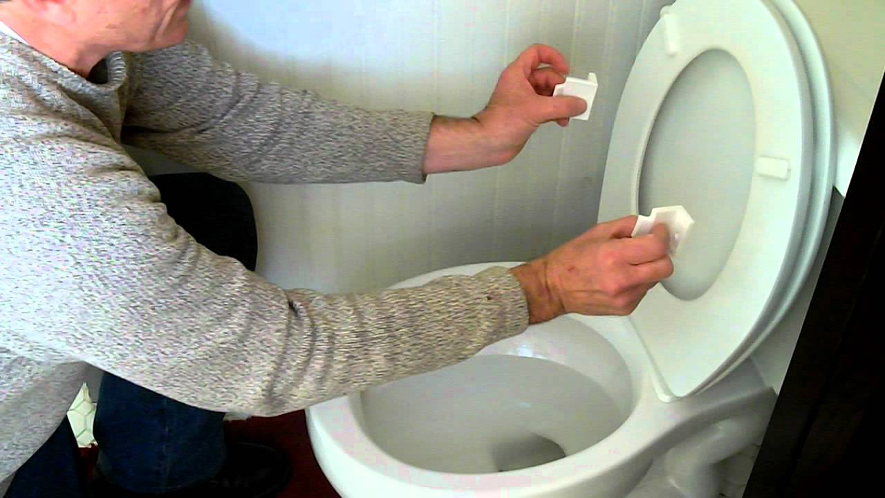 Toilet Seat Stoppers Installation Youtube