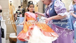 Bibbidi Bobbidi Boutique Disney World Magic Kingdom Crown Castle Package Princess Makeover 2018