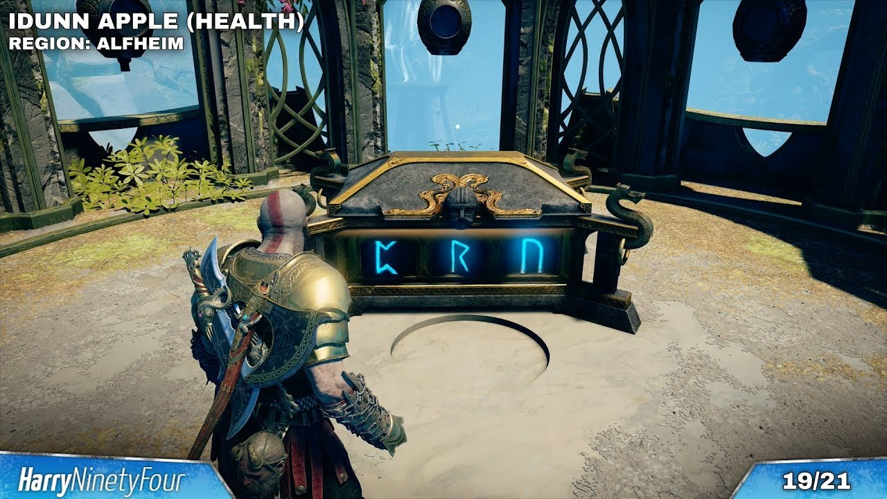 God Of War All Nornir Chests Locations Guide How To Open Them Nornir Chest Walkthrough