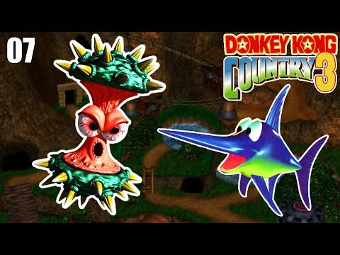 GAMEPLAY NO MUNDO DO TELEFERICO COM A MAYARA - Donkey Kong Country 3 SNES - PARTE 7