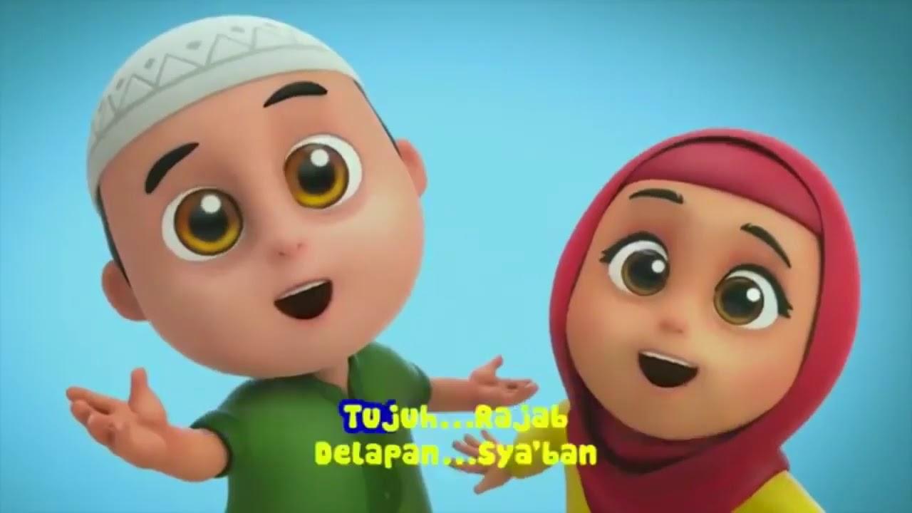 Episode terbaru Nusa dan Rara menghafal nama bulan hijriyah ll ...