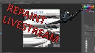 🔴 LIVE | Aircraft Repainting