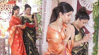 Tanushree Dutta's Diwali Pooja With Sister Ishita Dutta & Talks About Rakhi Swant