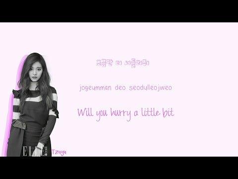 TWICE (트와이스) TURTLE Lyrics (거북이) Han Rom Eng Color Coded