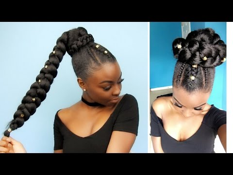 Side Pony | Jumbo Braid | Protective Style