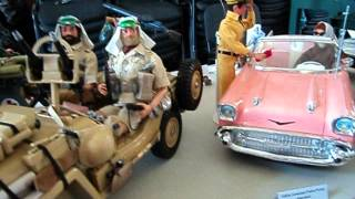 Vintage Action Man Display Part 1