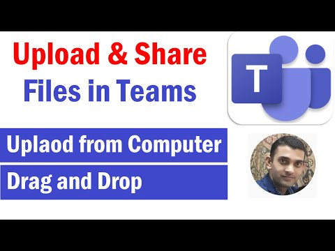 How to Upload and Share Files in Microsoft Teams | How to Share a File in Teams | #microsoftTeams