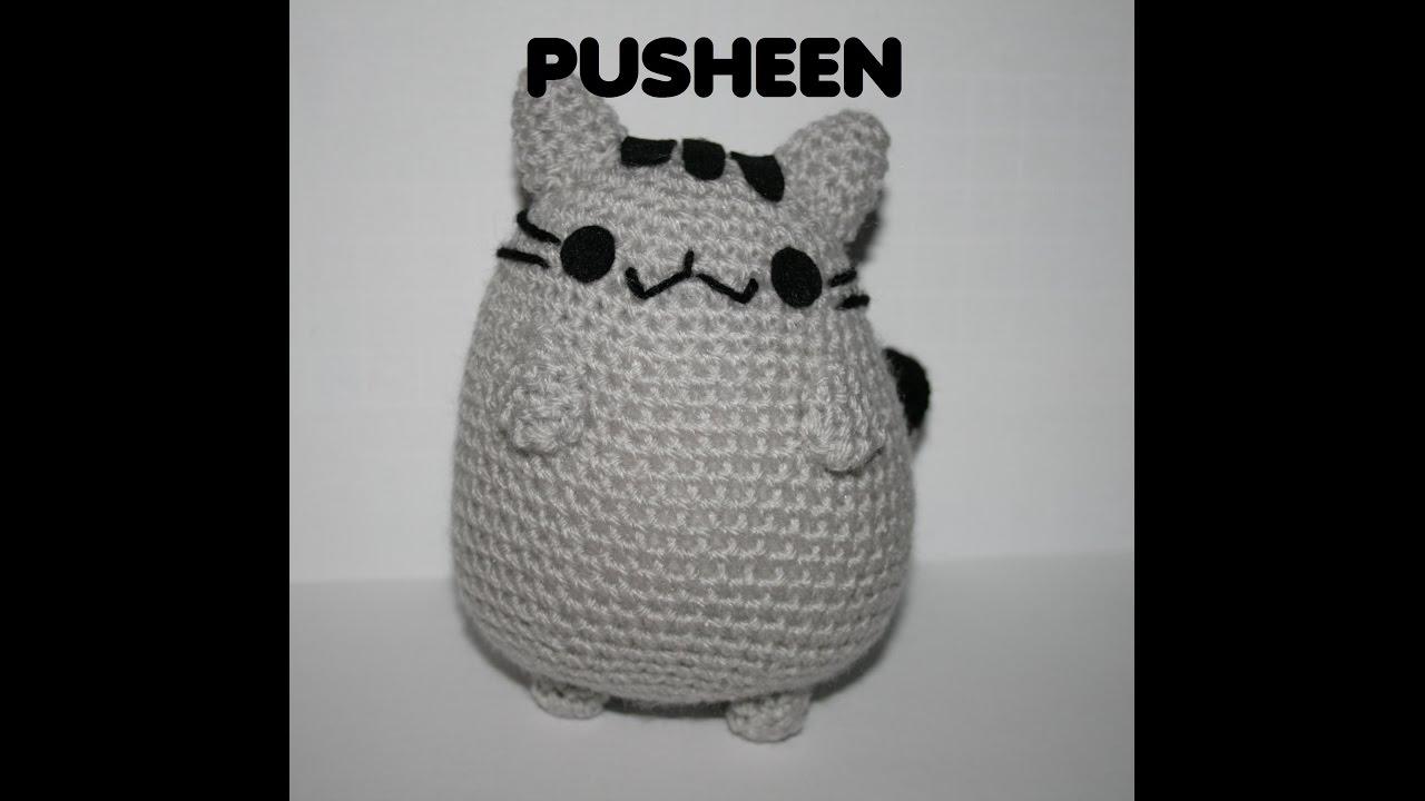 Patrón Pusheen amigurumi - YouTube