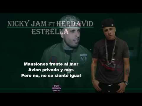 Nicky Jam   Estrella Ft Herdavid  VideoLyric Un Official Cover
