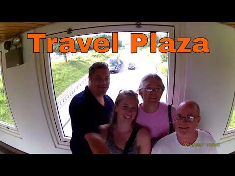 Angola Travel Plaza on our way to Niagara Falls