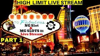 $5000 High Limit Slot Play w/MGSlots 21 From LAS VEGAS