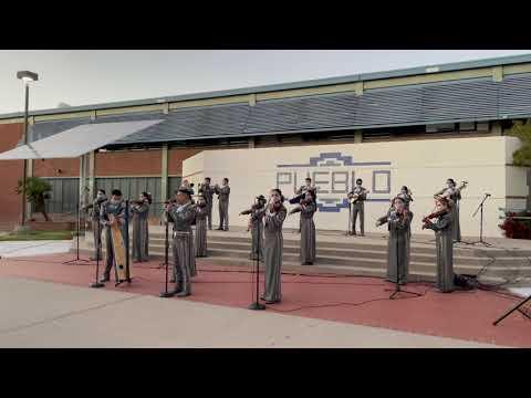 Mariachi Aztlán de Pueblo High School - El Rey de la Huasteca
