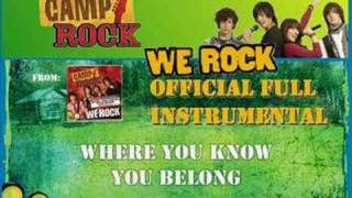 We Rock (Full  Instrumental) - Cast at Camp Rock