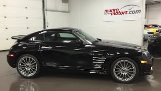 2005 Crossfire SRT6 one owner supercharged SOLD Munro M
