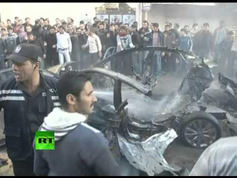 Video: Hamas military chief Ahmed Jabari killed in Israeli airstrike in Gaza
