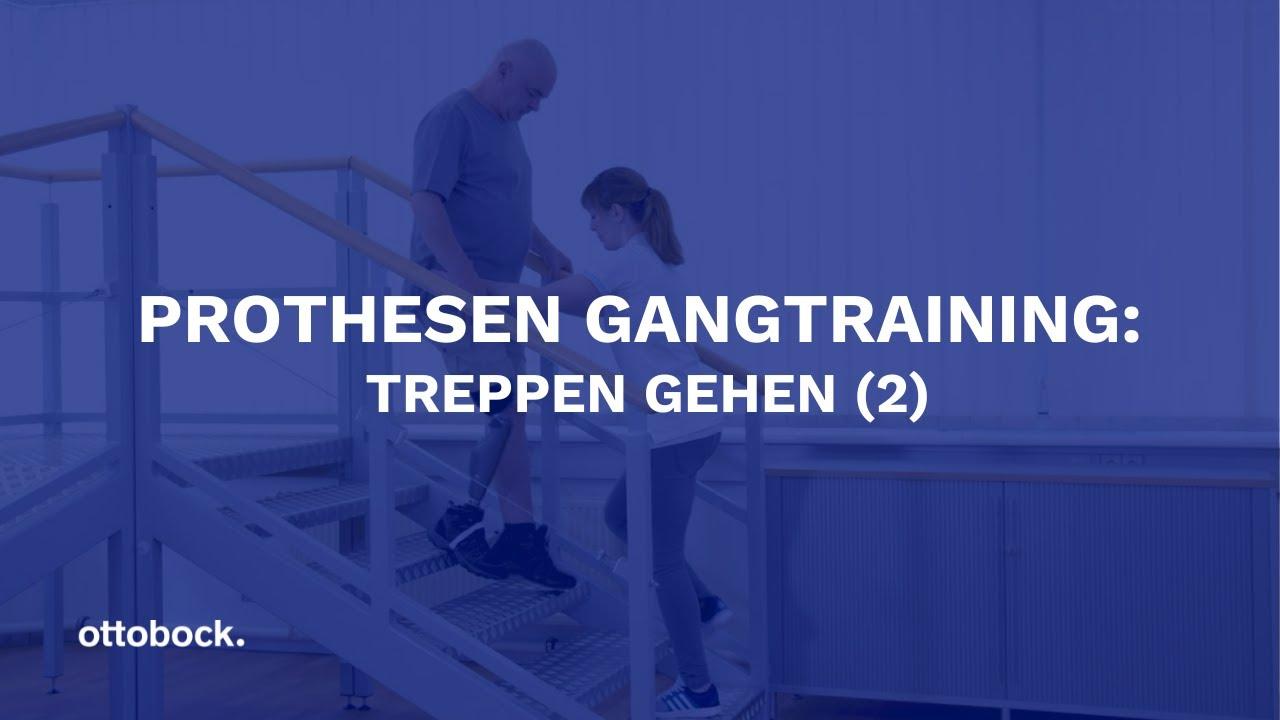 Treppensteigen mit beinprothese