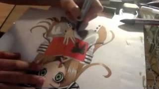Drawing Chocolat from Sugar Sugar Rune (Request manga for me to draw!)