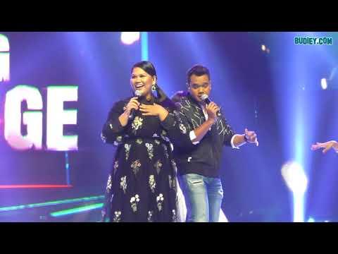 Lawak Bila Sherry Alhadad Nyanyi Lagu CINDAI Siti Nurhaliza di BIG STAGE