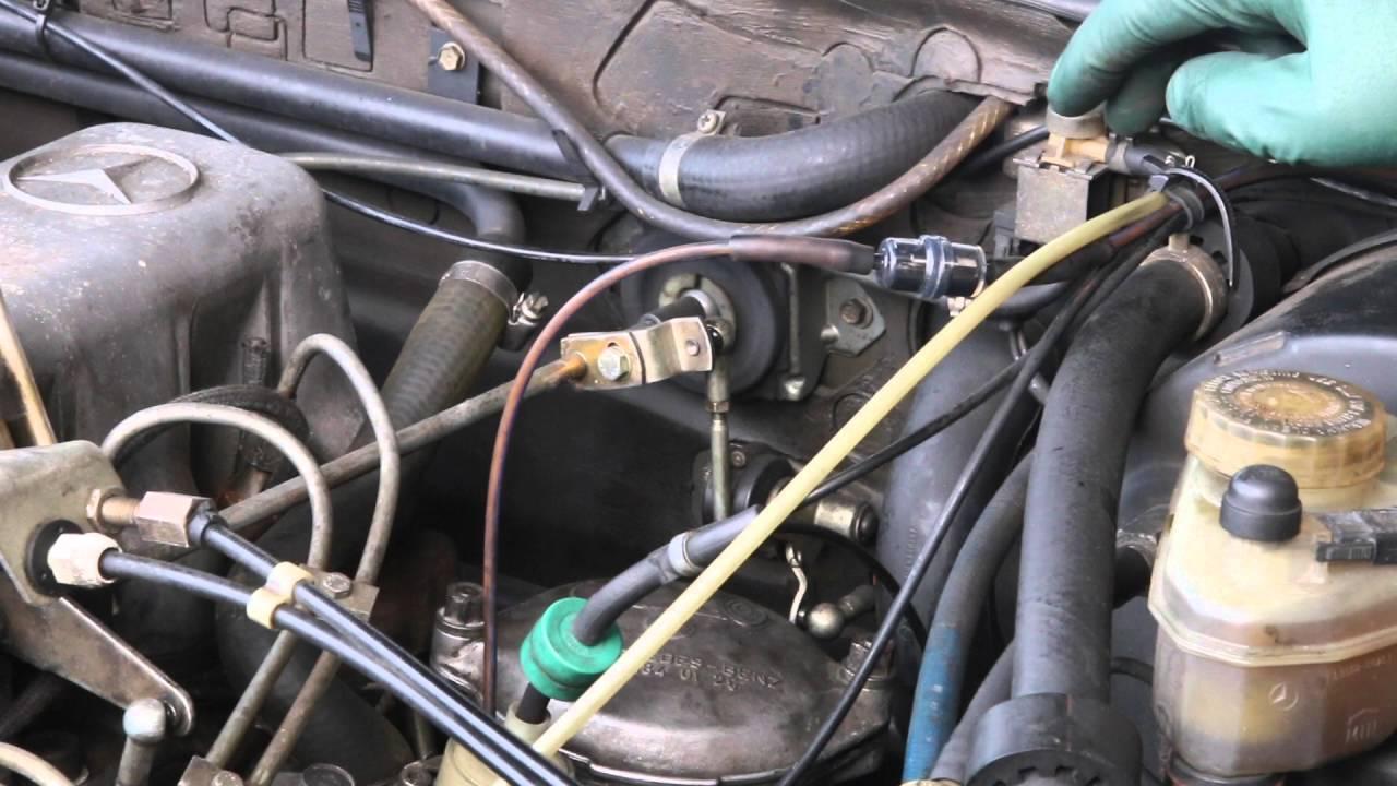 small resolution of mercedes diesel vacuum fuel shutoff inspection filter