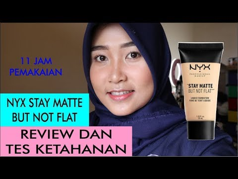 nyx-stay-matte-but-not-flat-foundation-|-review-dan-tes-ketahanan-||-ayu-indah