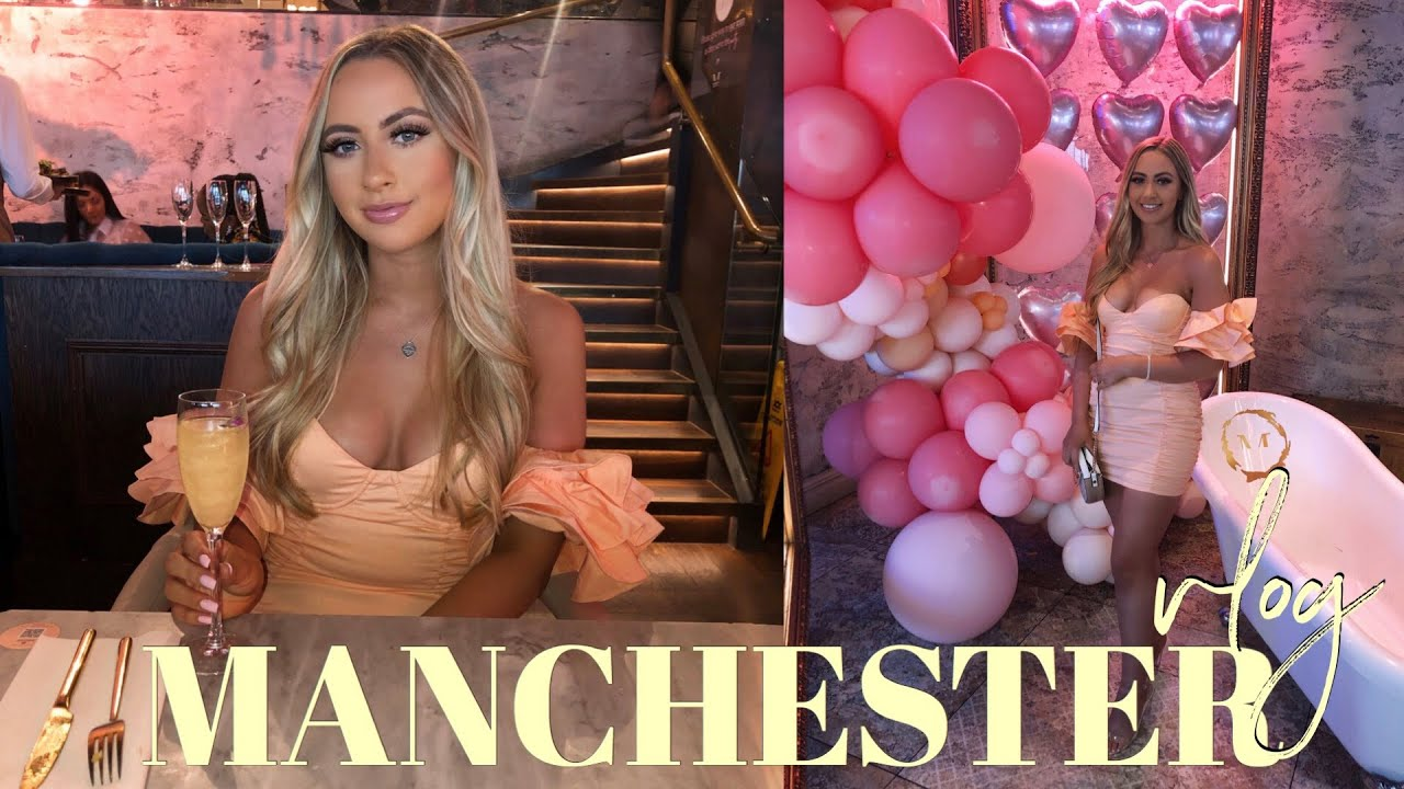 MANCHESTER VLOG! anniversary weekend... we were basically just drunk and eating the whole time lol