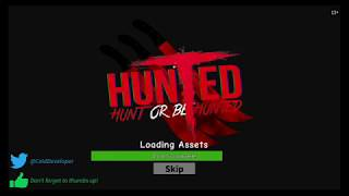 ROBLOX Hunted With my freind goldenarrow622