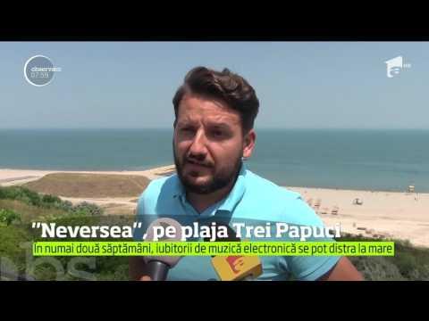 Festivalul Neversea, pe plaja Trei Papuci din Constanța