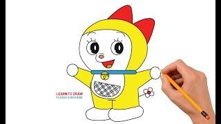 How to Draw Dorami Step by Step Easy