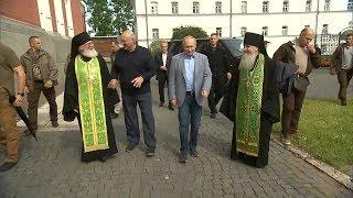 Путин и Лукашенко посетили Валаамский мужской монастырь