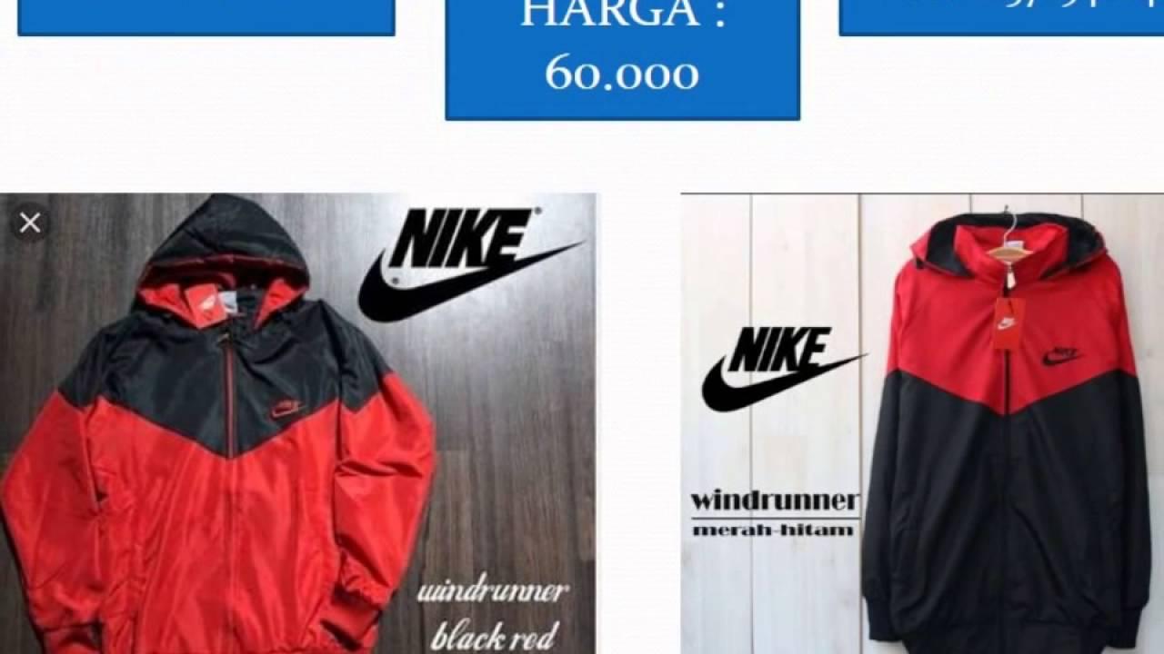 Harga Jual Jaket Parasut Nike Semarang Hitam Murah