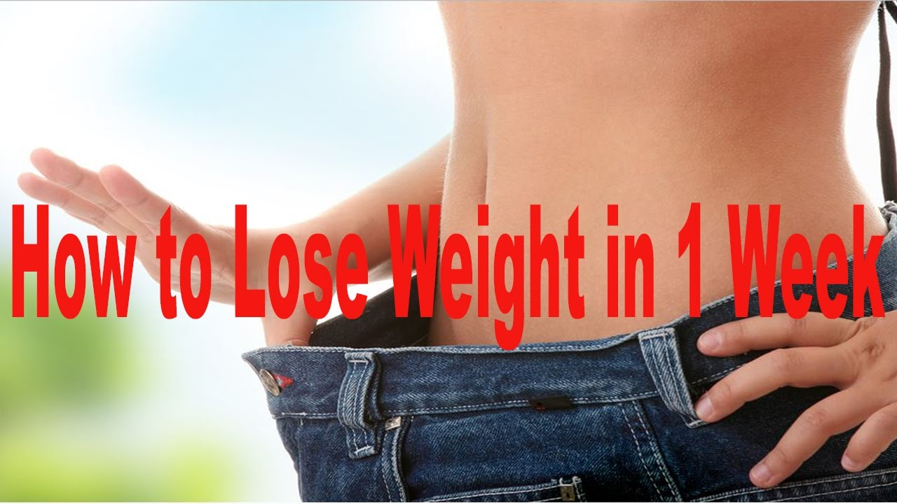 Quick ways to lose weight in 3 months