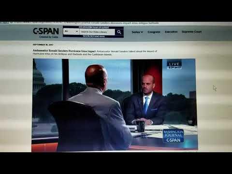 CSPAN WASHINGTON DC JOURNAL TV & STRONGEST LIGHT STEEL introduced to U.S. AMB, BARBUDA GOV 9-19-17