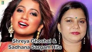 shreya ghoshal sadhana sargam super hit best audio jukebox