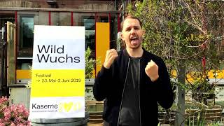 Veranstaltungen mit Gebärdensprache // Wildwuchs Festival 2019