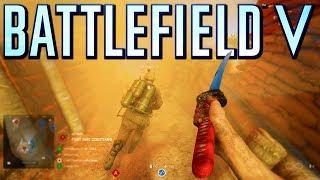 Battlefield 5 New Katana Destroys! (Battlefield V)