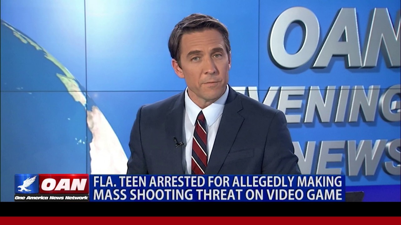 Fla. teen arrested for allegedly making mass shooting threat on video game
